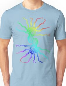 Rainbow Octopus Unisex T-Shirt