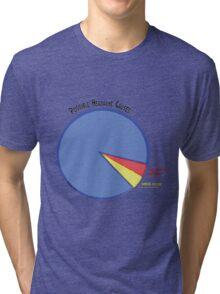 Headache Causes Pie Chart Tri-blend T-Shirt