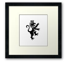 Griffin Lion Bird Thingy Framed Print