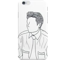 Mulder Outline iPhone Case/Skin