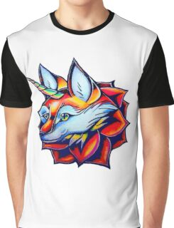 Foxicorn Graphic T-Shirt