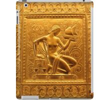 Embossed Brass Commerce Panel - Fisher Building iPad Case/Skin