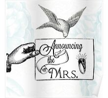 Announcing the Mrs. Poster