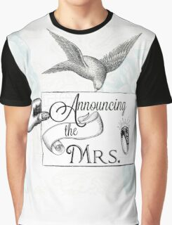 Announcing the Mrs. Graphic T-Shirt