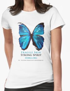Beautiful Blue Butterfly Proceeds donated to DebRa.org T-Shirt
