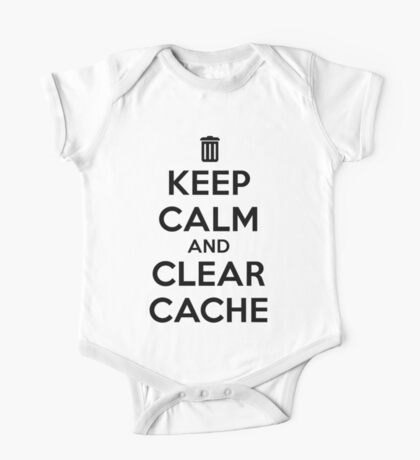 Keep calm and clear cache One Piece - Short Sleeve