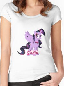 Goth Twilight Women's Fitted Scoop T-Shirt