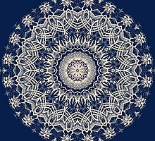 Blue Pattern Kaleidoscope by fantasytripp