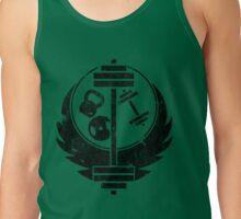 Aged brotherhood of steel (Gym edition) Tank Top