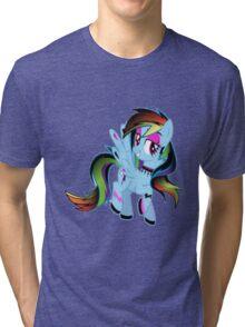 Goth Rainbow Dash Tri-blend T-Shirt