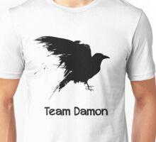 Team Damon: Raven Unisex T-Shirt