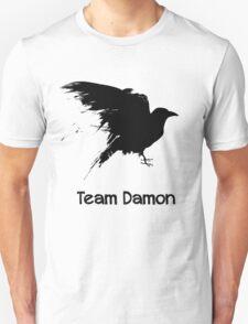 Team Damon: Raven T-Shirt