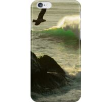 Somber Waves of Green iPhone Case/Skin