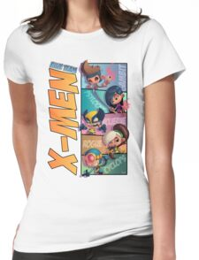 X-Men: Blue Team Womens Fitted T-Shirt