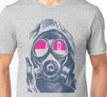 Reflection from the Gasmask Unisex T-Shirt