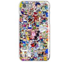 nyami & mimi collage iPhone Case/Skin