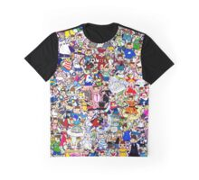 nyami & mimi collage Graphic T-Shirt