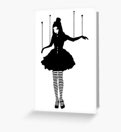 love puppet Greeting Card