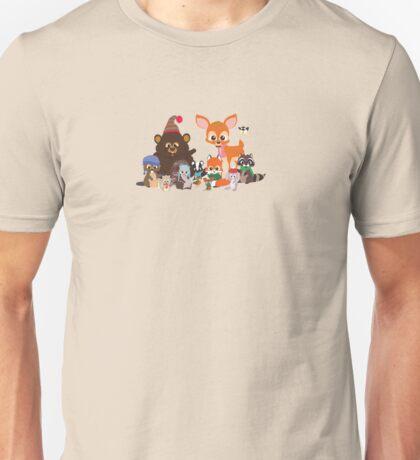 Christmas Critters Unisex T-Shirt