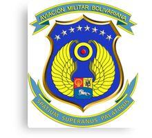 Emblem of the Venezuelan Air Force Canvas Print