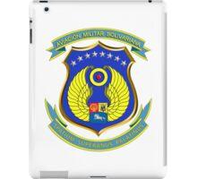 Emblem of the Venezuelan Air Force iPad Case/Skin
