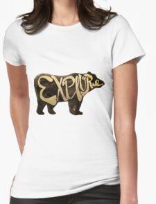 Bear Necessities Womens Fitted T-Shirt