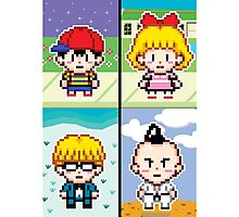 Chosen Four Square - Earthbound Pixel Art Photographic Print