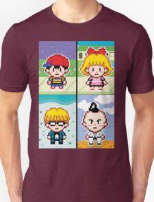 Chosen Four Square - Earthbound Pixel Art T-Shirt