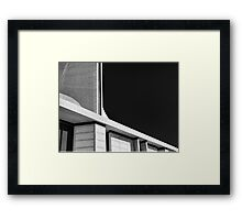 Abstract Church Framed Print