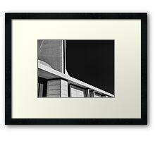 Abstract Church Framed Print