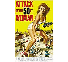 Attack of the 50ft Woman 1958 (PD) Photographic Print
