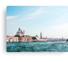Venice : The city of Romance surrounded by sea Canvas Print