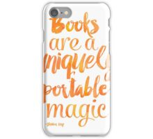 Mango Books are a uniquely portable magic  iPhone Case/Skin
