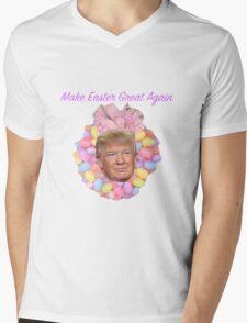 Donald, Make Easter Great Again Mens V-Neck T-Shirt