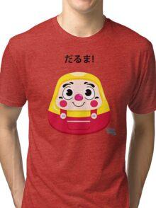 Daruma Kid Tri-blend T-Shirt