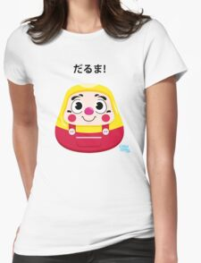 Daruma Kid Womens Fitted T-Shirt