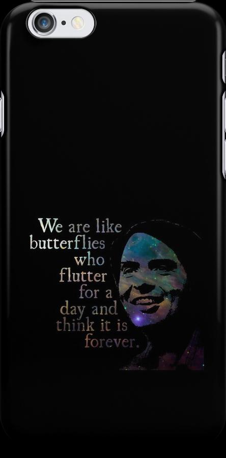We Are Like Butterflies - Carl Sagan by Daogreer Earth Works