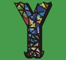 Letter Y Baby Tee