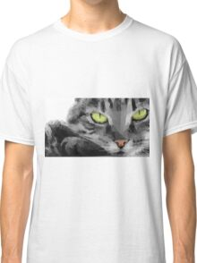Graphical Cat Classic T-Shirt