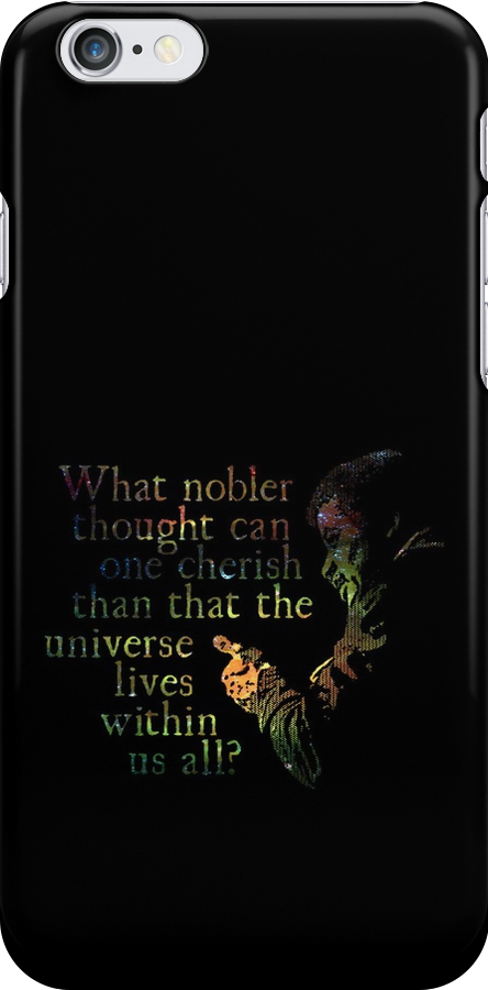 Nobler Thought - Neil DeGrasse Tyson by Daogreer Earth Works