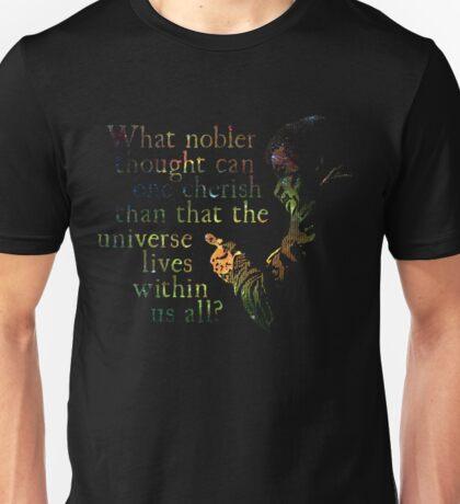 Nobler Thought - Neil DeGrasse Tyson Unisex T-Shirt
