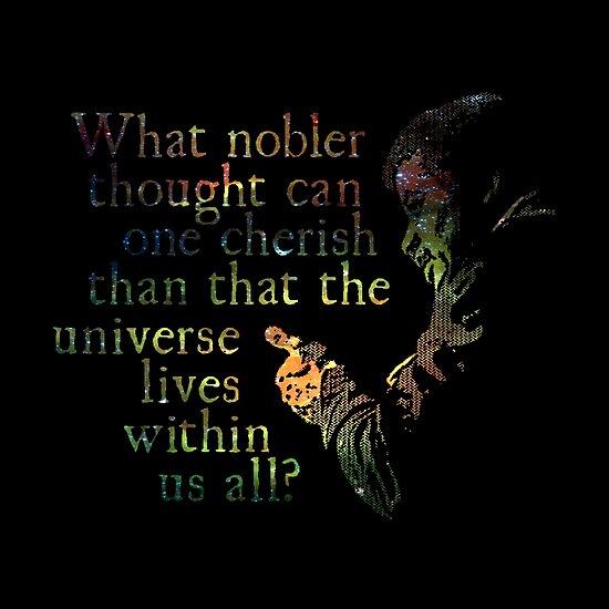 Nobler Thought - Neil DeGrasse Tyson by Daogreer Earth Works