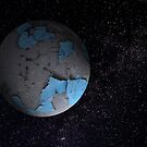 peeling planet by Matt Mawson