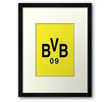 BVB FTW! Framed Print