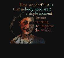 A Single Moment - Anne Frank Unisex T-Shirt