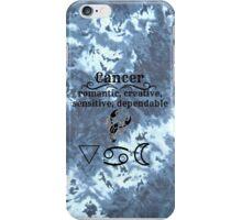 Cancer Star Sign Design iPhone Case/Skin