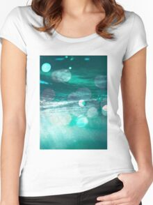 Hope Floats #redbubble #home #interiors #lifestyle Women's Fitted Scoop T-Shirt