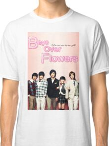 Boys Over Flowers Classic T-Shirt