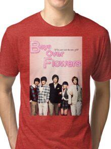 Boys Over Flowers Tri-blend T-Shirt