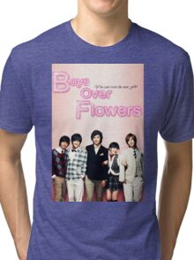 Boys Over Flowers Tri-blend T-Shirt